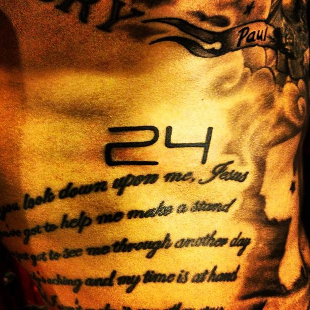Tim Howard Tattoo