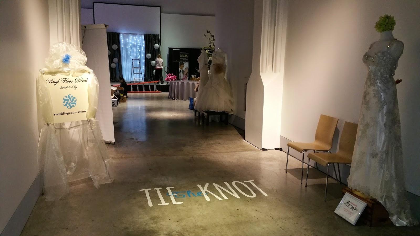 Urban Wedding Show Floor Decal