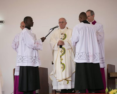Pictures pope francis visits kenya