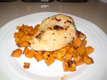 ... Kitchen: Spiced Chipotle Honey Chicken Breasts with Sweet Potatoes
