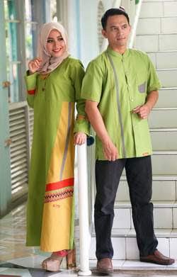 Koleksi Baju Muslim Berpasangan untuk Hari Raya