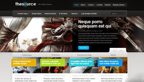 TheSource ElegantThemes Wordpress Theme Version 4.1 free