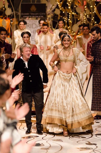 Rohit Bal Sonam Kapoor India Bridal Fashion Week 2013