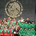 Palabras del presidente de México a los equipos triquis y poblanas campeones