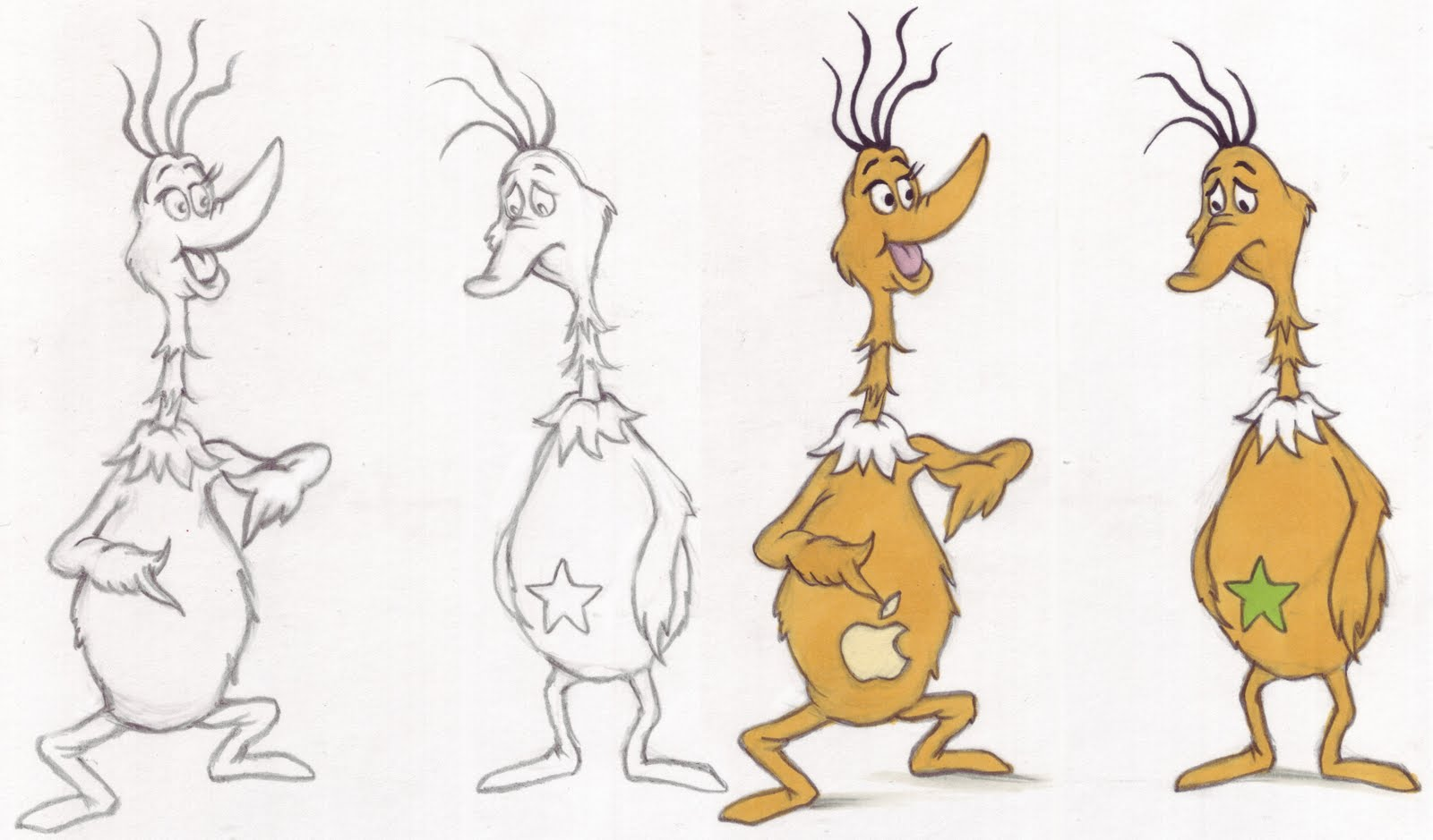 Free Coloring Pages Of Sneetches Sneetches Coloring Page