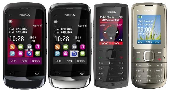 Nokia Dual SIM Handsets Prices