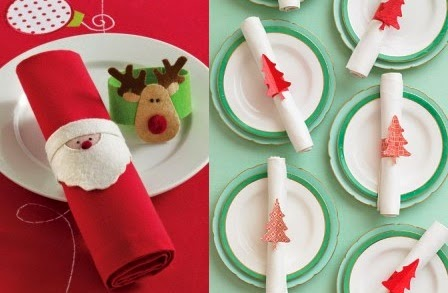 Servilleteros de navidad con goma eva imagui for Manualidades con goma eva para navidad
