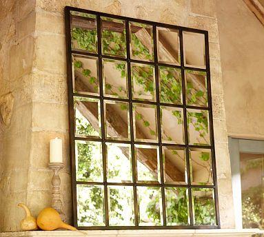 Pottery Barn Eagan Multipanel Large Mirror | Decor Look Alikes