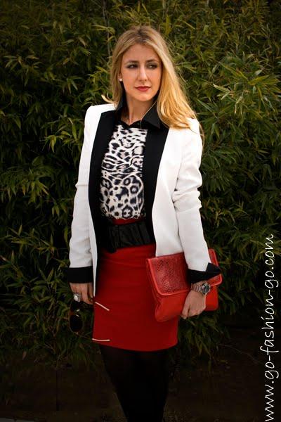 ropa para ir a trabajar street style blog