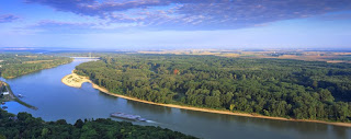 Danube river banks