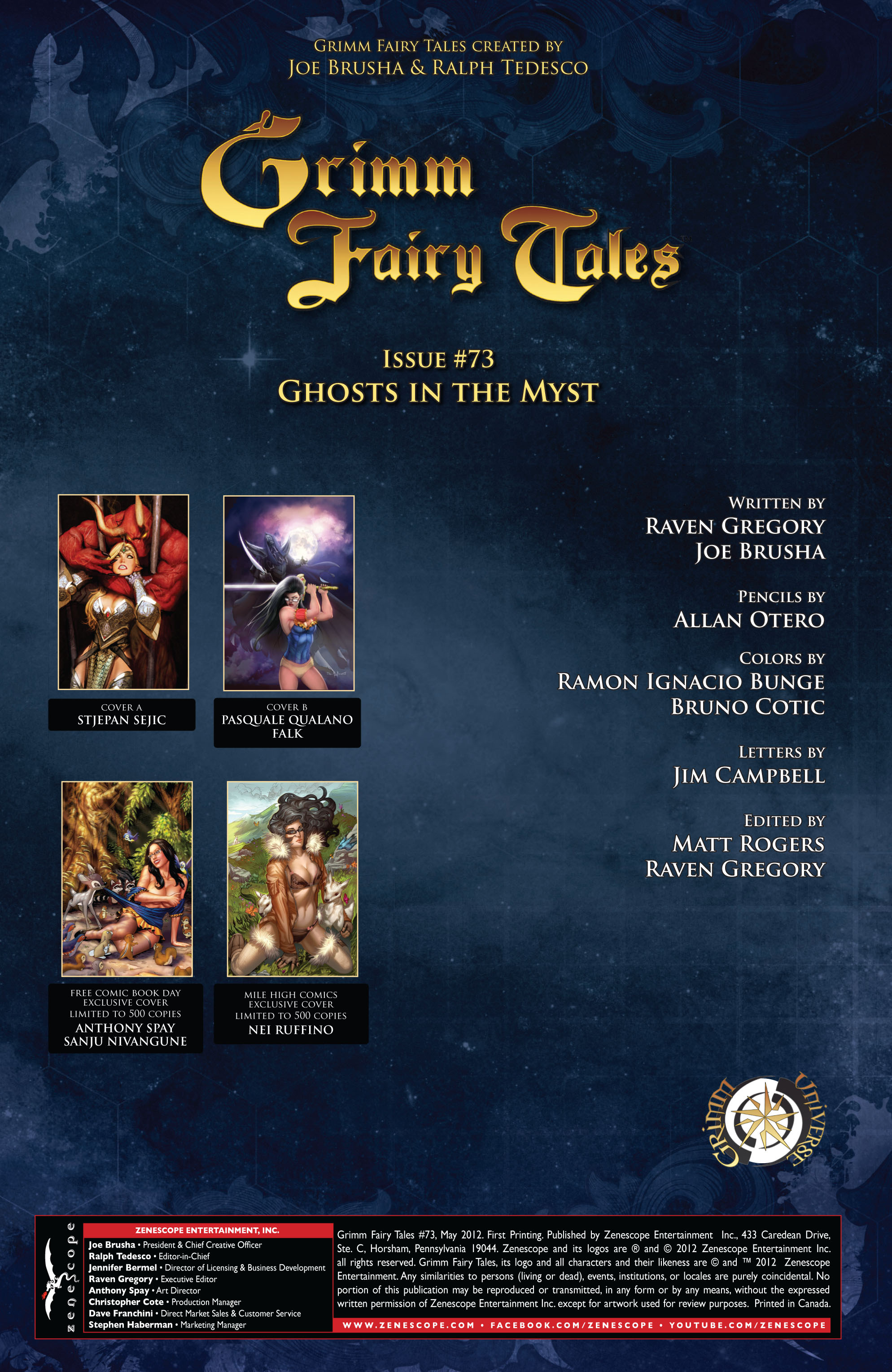 Grimm Fairy Tales (2005) Issue #73 #76 - English 2