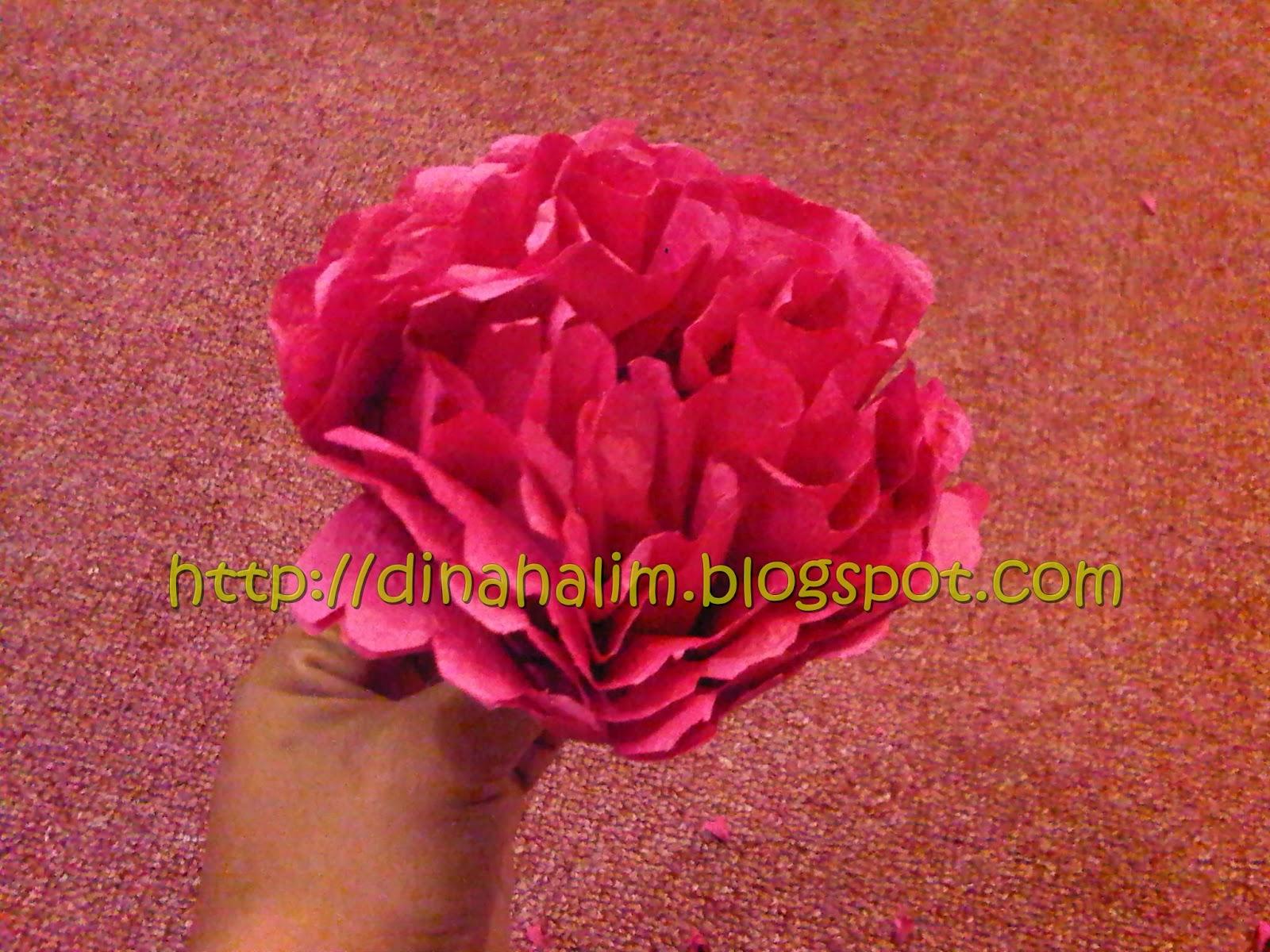 DIY : Bunga Tisu