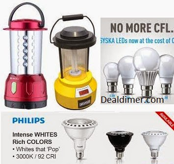 LED Bulbs & Emergency Lights