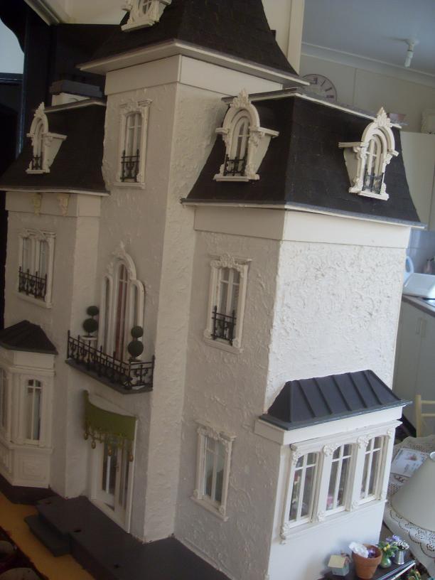 doll house furniture plans. Dollhouse Miniature French Chateau Doll House Furniture Plans