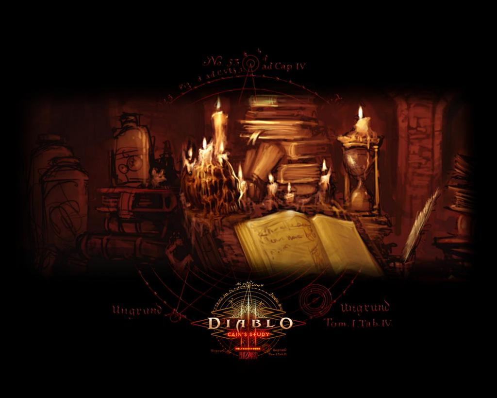 Diablo HD & Widescreen Wallpaper 0.869291235040698