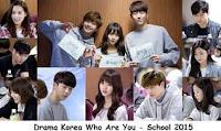Korea Who Are You School 2015