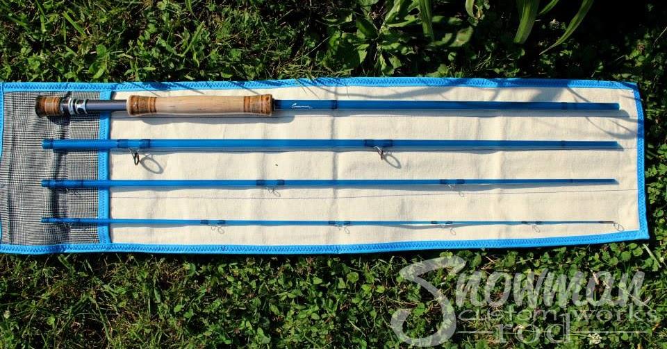 The fiberglass manifesto snowman custom rod works swift for Swift fly fishing