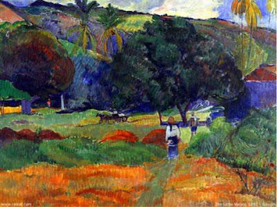 pequeño valle gauguin