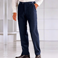 Pantaloni reglabili prin catarama