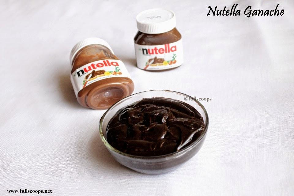 Nutella Ganache