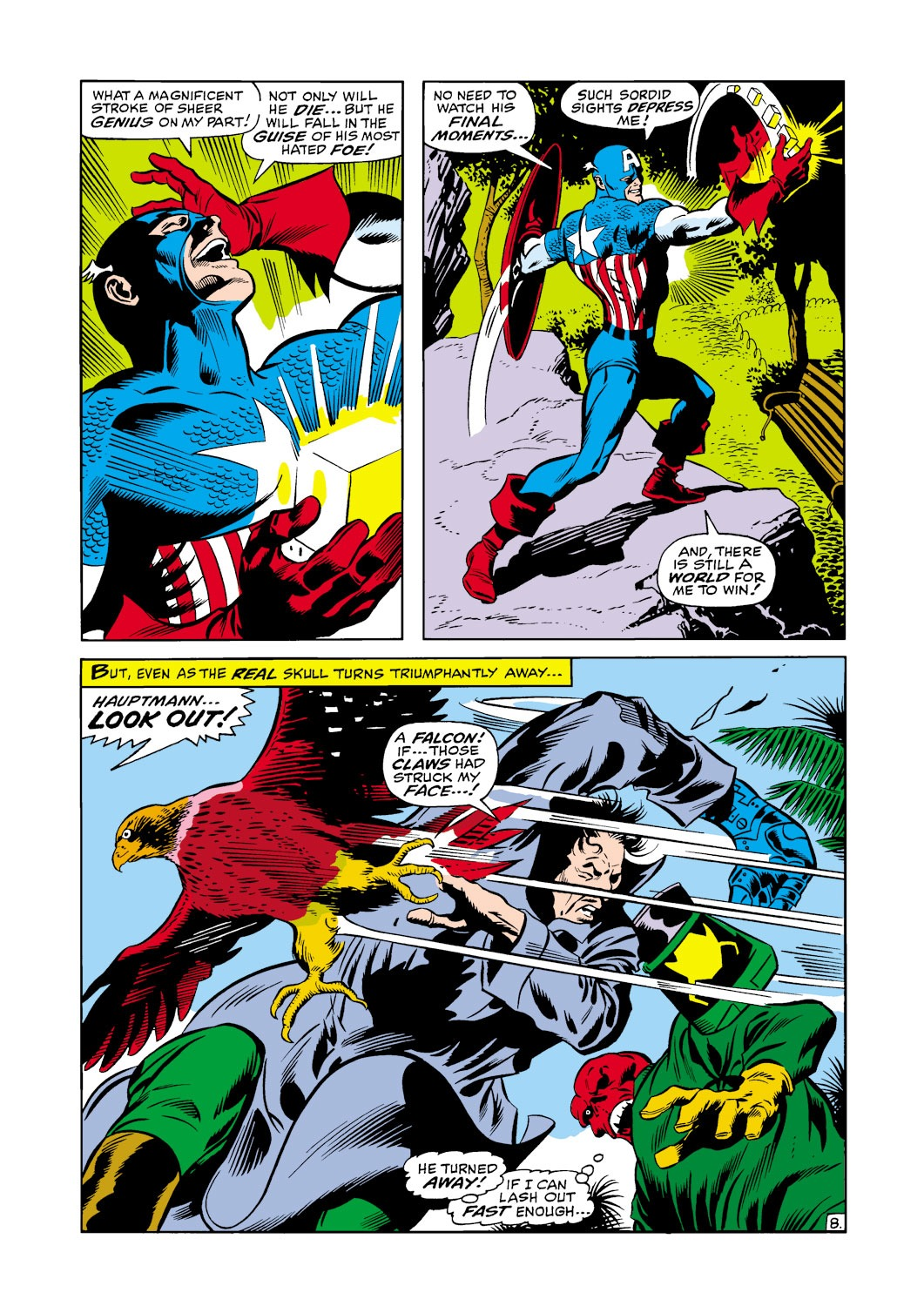 Captain America (1968) Issue #117 #31 - English 9