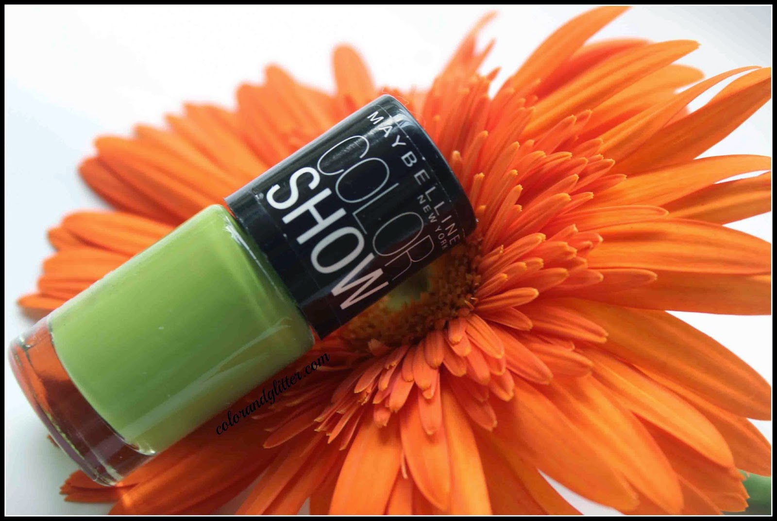 Maybelline Color Show Nail Polish in Mint Mojito (color number 404) || Review and Swatches
