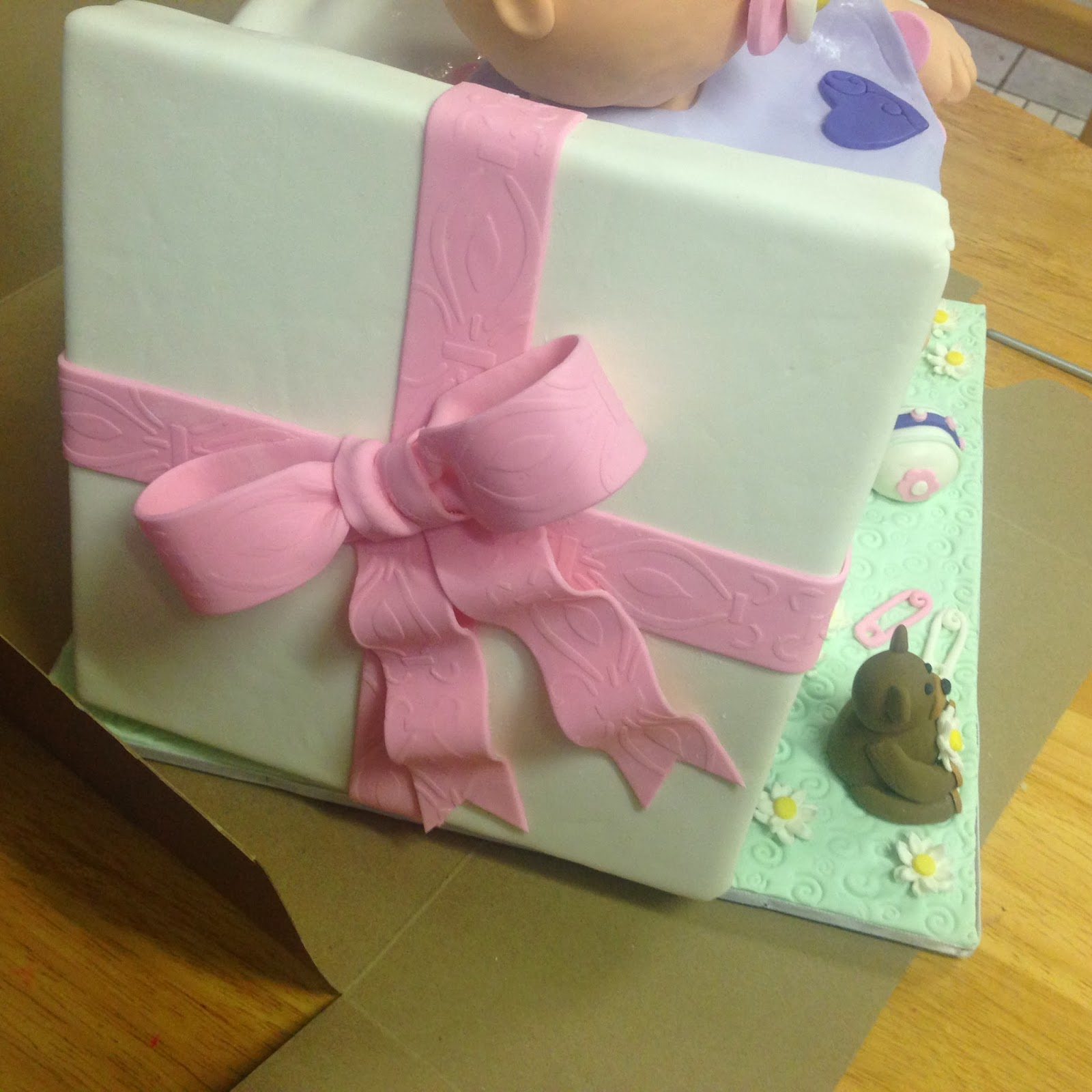 Cakes by Mindy: Baby Doll Cake 8
