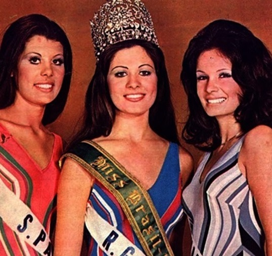 1972 - Top Tres Miss Universo Brasil