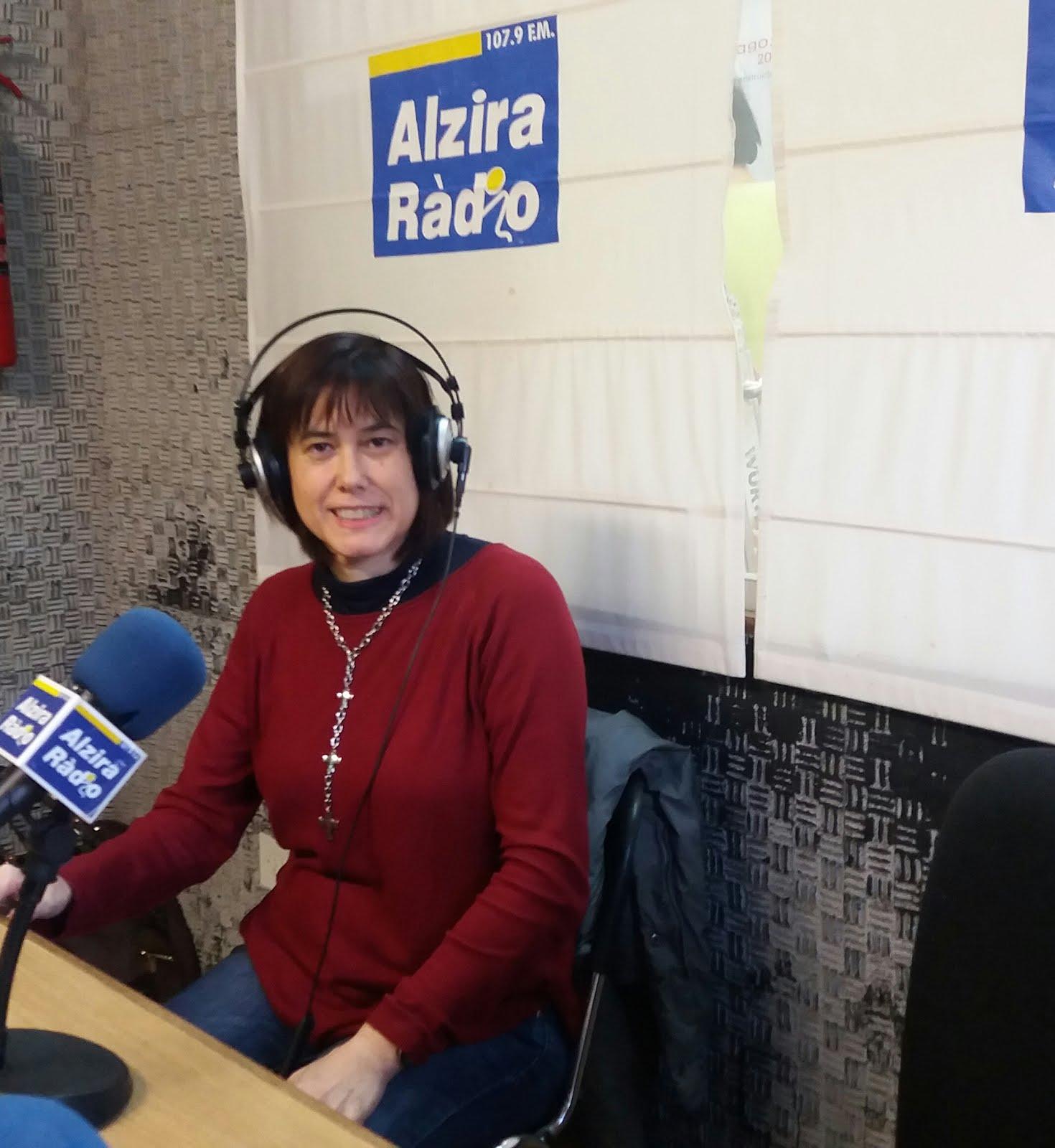 Convidada a Alzira ràdio