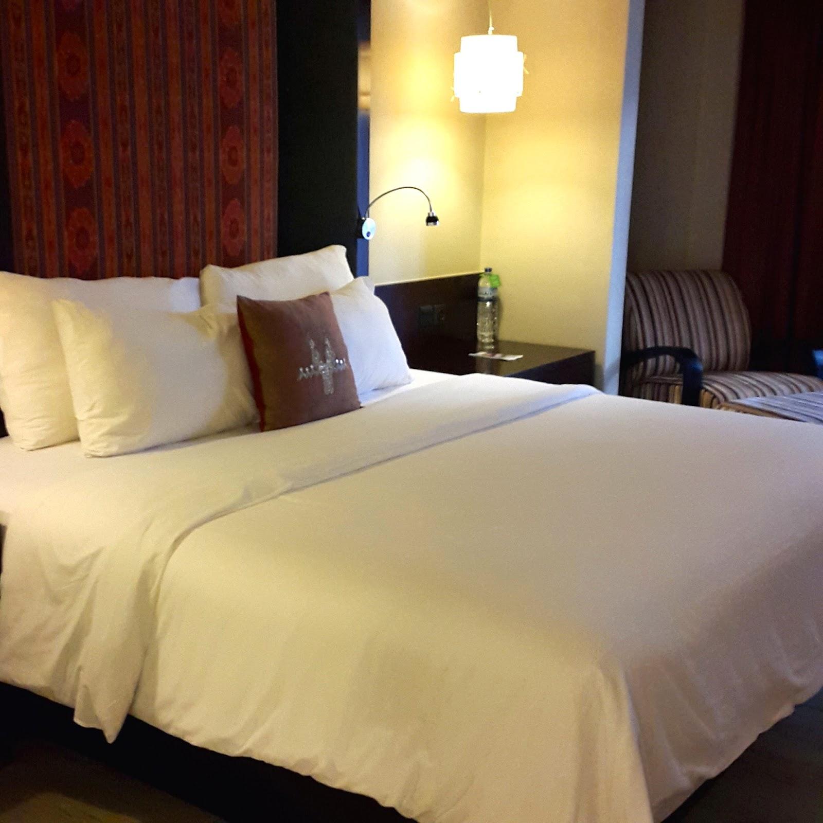 Novotel Lombok Resort Bedroom