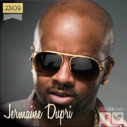 23 de septiembre | Jermaine Dupri - @jermainedupri | Info + vídeos