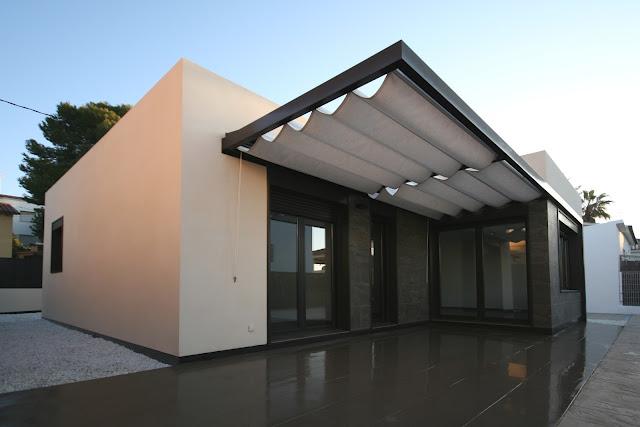 Casas Y Planos Casa Mediterr Nea 116 M2