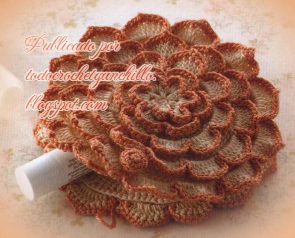 Monedero / portacosmético crochet