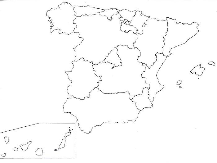 ESPANYA COMUNITATS AUTÒNOMES BLANC