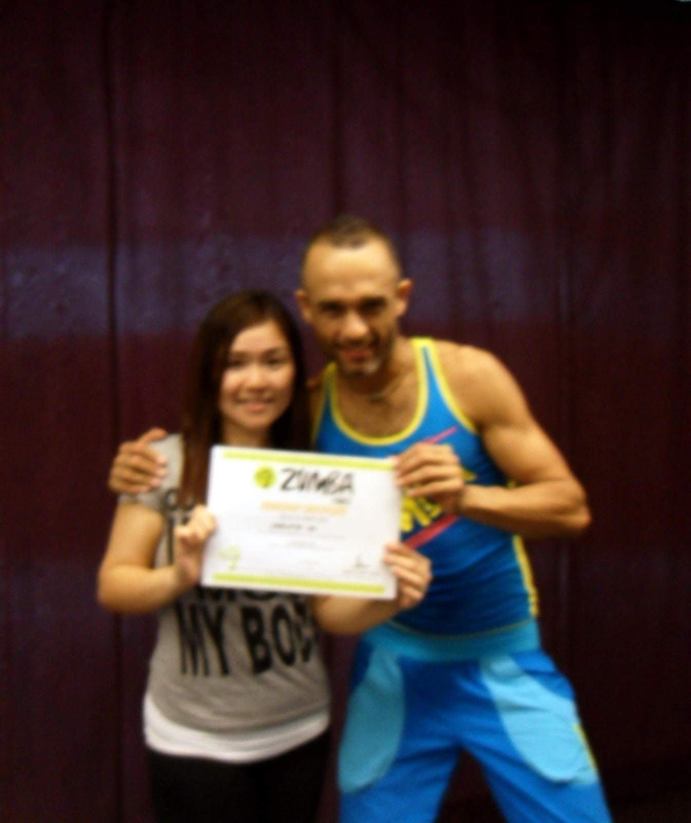 Dream Journey - Slim Pretty Youthful: I am ZUMBA SINGAPORE ...