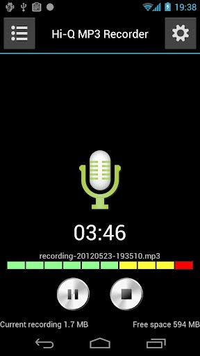 Hi-Q MP3 Voice Recorder full apk