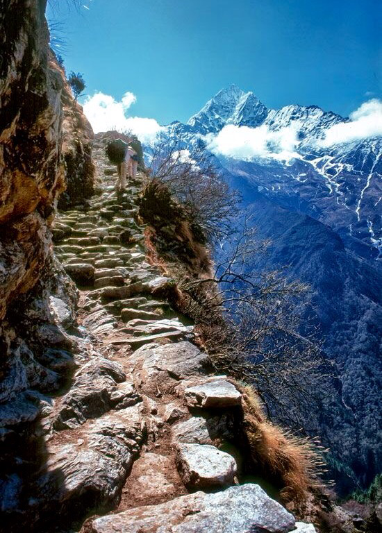 Annapurna himalaya nepal