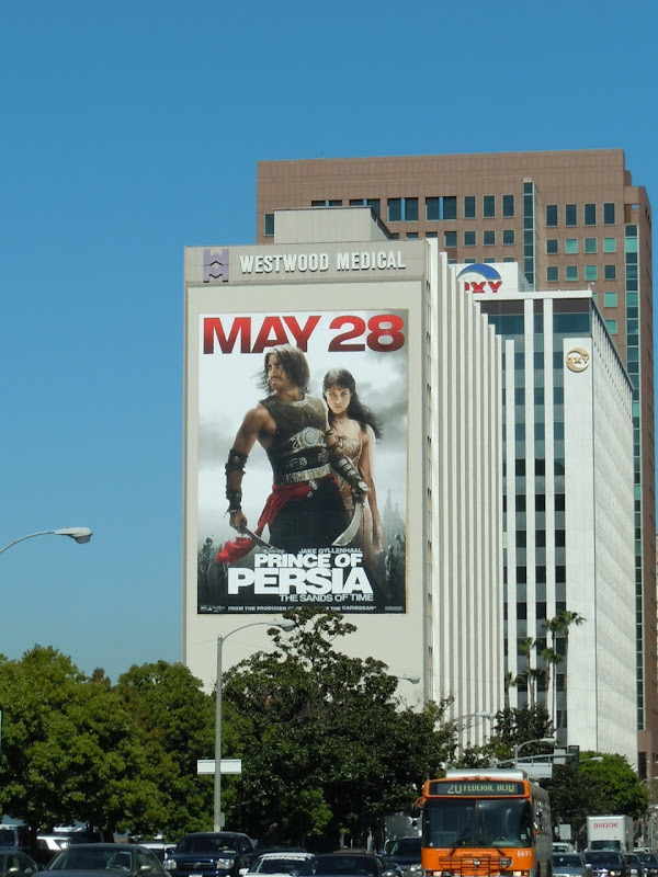 Giant Prince of Persia movie billboard