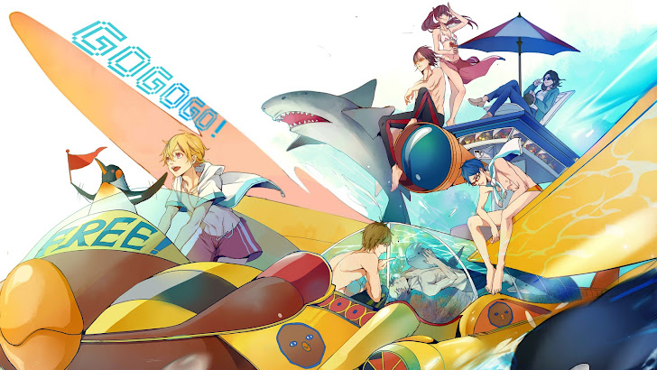 Free! Iwatobi Swim Club. Anime