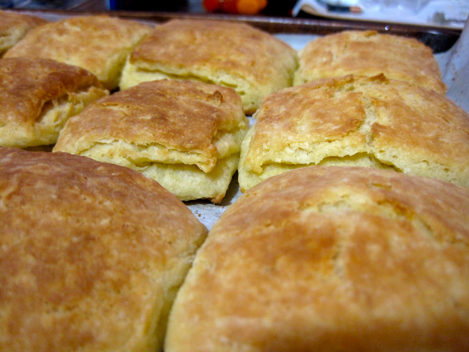 The Cupcake Criminal: Homemade Flaky Layer Biscuits