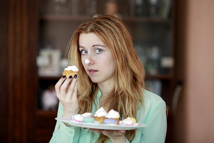 funny pic, vtipný obrázek, cupcake, birthday