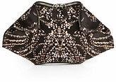 Alexander McQueen bejeweled clutch, Alexander McQueen black clutch with rhinestones, holiday designer clutch, best designer holiday purses, gift guide 2014 womens purse, womens clutch, rhinestone black clutch handbag