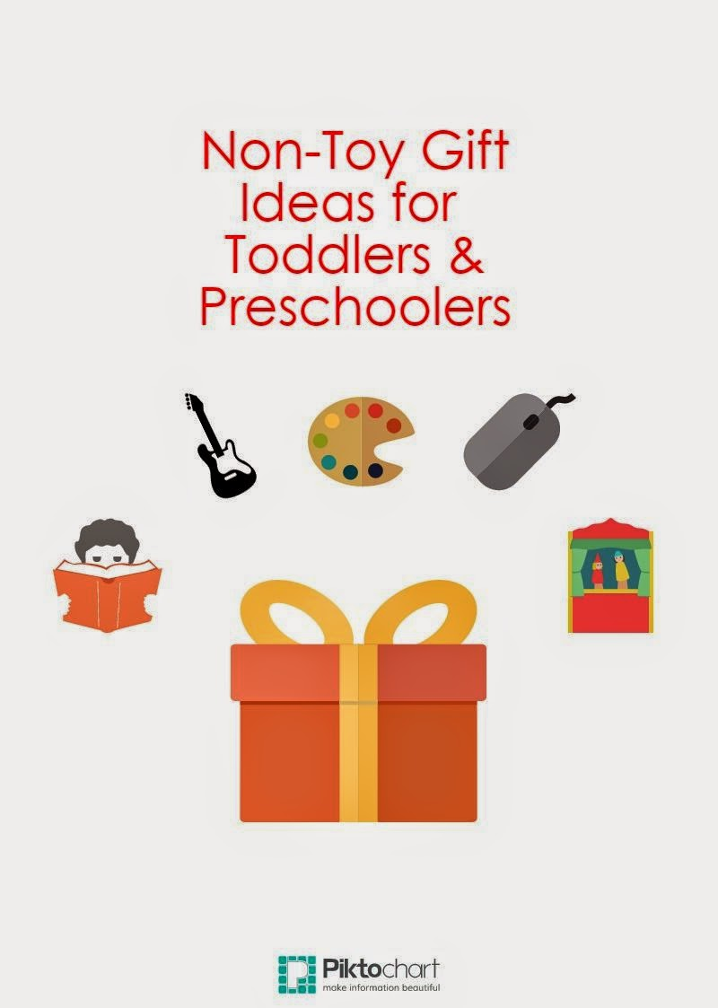 non-toy gift ideas toddler preschooler #ivysvariety