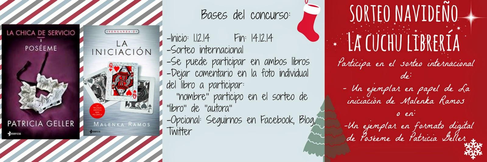 http://lacuchulibreria.blogspot.com.es/2014/11/sorteo-navideno_30.html
