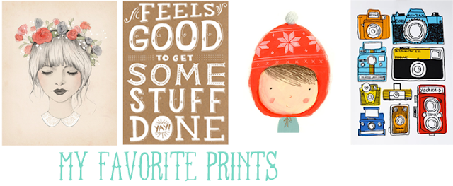 Pretty prints! via acreativecookie.blogspot.com