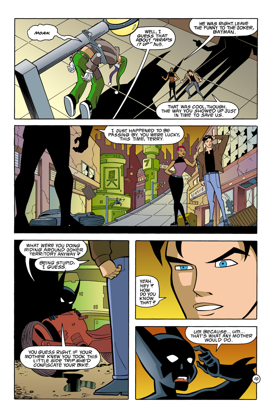 Batman Beyond [II] Issue #7 #7 - English 11