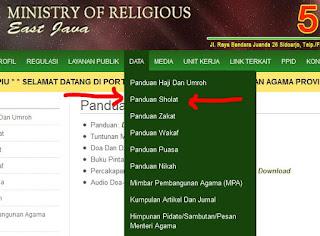 Website Kemenag Jawa Timur Sudutkan Amaliyah NU