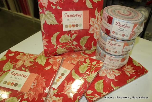 Telas Layer Cake Tapestry & los Jelly Rols Papillon - Vilabors