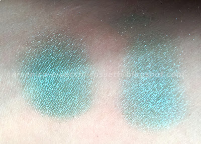 Urban Decay Flipside ombretto vintage swatch