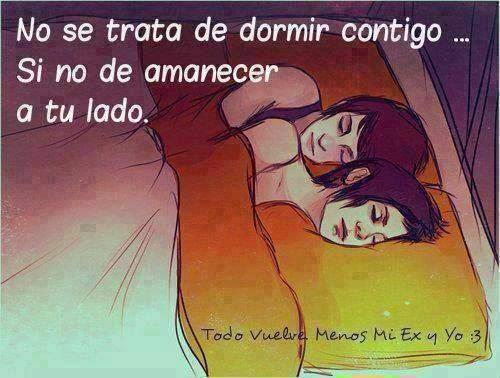 amor dormir solos